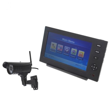 Wireless Network CCTV with 1 x 20 metre Night Vision External Camera [002-1640]