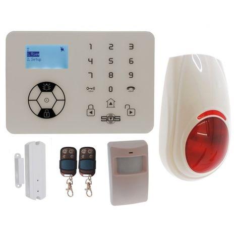 KP9 'Bells Only' Wireless DIY Burglar Alarm Kit A Plus [005-4330]