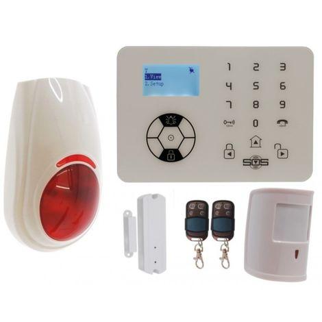 KP9 Bells Only Pet Friendly Wireless Burglar Alarm Kit C Plus [005-4390]