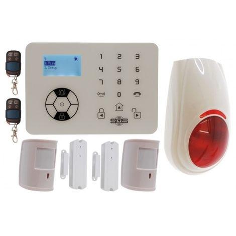 KP9 Bells Only Pet Friendly Wireless Burglar Alarm Kit D Plus [005-4420]