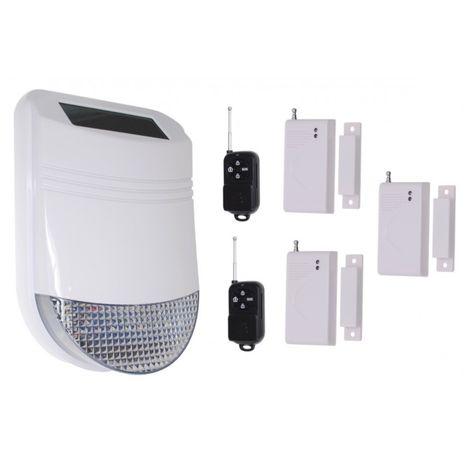 HY Solar Wireless Siren House Alarm Kit 1 [005-6210]