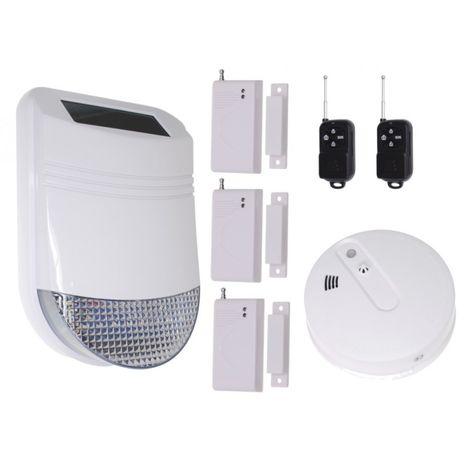 HY Solar Wireless Siren House Alarm Kit 2 [005-6220]