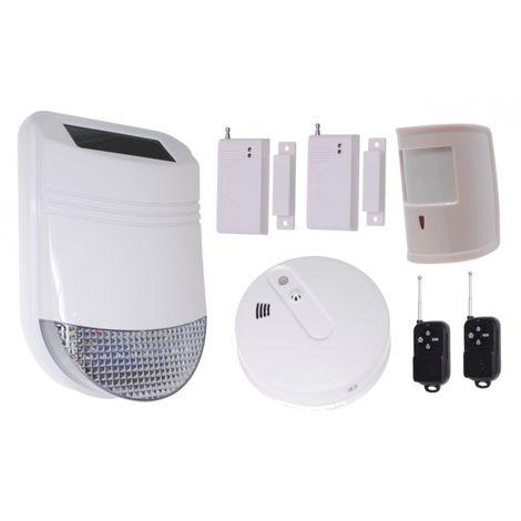 HY Solar Wireless Siren House Alarm Kit 6 [005-6260]