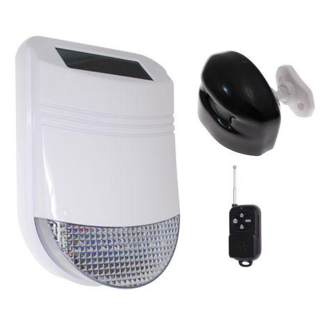 HY Outdoor Solar Wireless Siren Alarm Kit 1 [005-6270]
