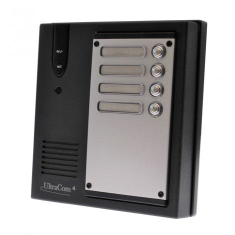 Additional Caller Station for the UltraCom4 Intercom - No Battery Back Up Please [006-1840]