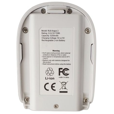 Battery For Reolink Argus 2 CCTV Camera [002-2380]