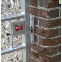 Slotted Plate for the Zedlock Secure Gate Locks [007-0920]