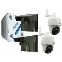 2 x PIR Protect 800 Driveway Alert with 2 x Battery Wi-fi PT Cameras Home Kit [014-0430]