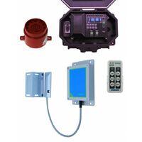 Long Range Wireless Gate Alarm with Outdoor Receiver & Adj Siren [004-5420]