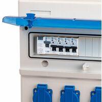 Coffret Électrique Étanche de 8 Prises Monophasés 16A – 230V