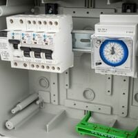 Coffret Electrique Piscine Hors Sol pour Filtration + PAC + robot