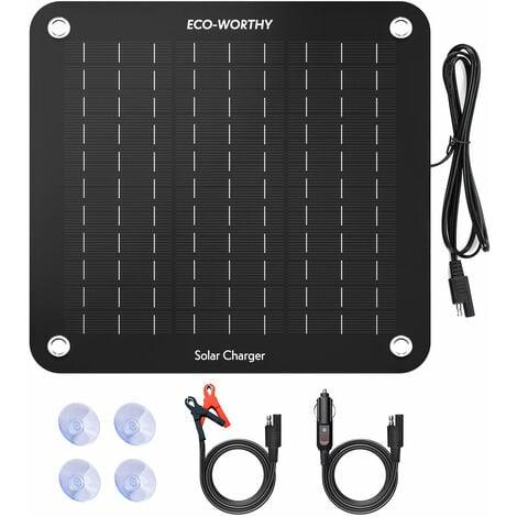 12V portable époxy 10W panneau solaire chargeur de batterie Motohome tente de camping en plein air