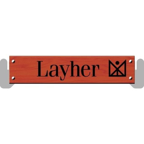 PLINTHE BOIS POUR ECHAFAUDAGE MULTIDIRECTIONNEL LAYHER UNIVERSEL - LAYHER | 0.73m
