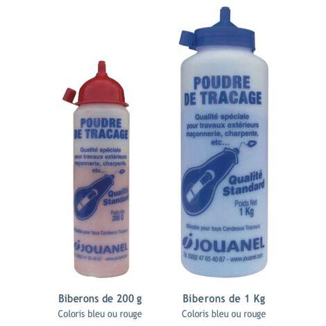 POUDRE À TRACER ROUGE 1 KG - GAMME MESURE TRACAGE - OUTILLAGE A MAIN - JOUANEL - Réf: PATSR1K | Bleu - 200 g