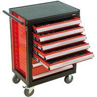 SERVANTE BASELINER 6 TIROIRS 156 PCS THERMO - GAMME RANGEMENT ET COMPOSITIONS - OUTIL PROFESSIONNEL - MOB