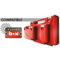 FUSION BOX TEXTILE GARNI PLOMBERIE - GAMME RANGEMENT ET COMPOSITIONS - OUTIL PROFESSIONNEL - MOB