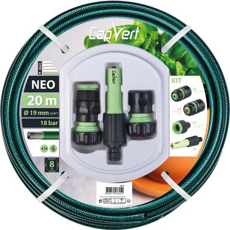 Batterie tuyau d'arrosage Néo Cap Vert - Diamètre 19 mm - Longueur 20 m