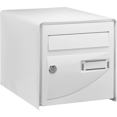 Boîte aux lettres Blanche simple face Probat