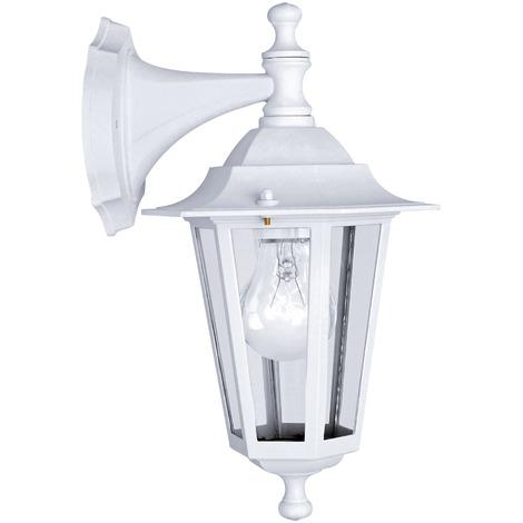Applique Laterna Eglo - E27 - Descendante - Blanc