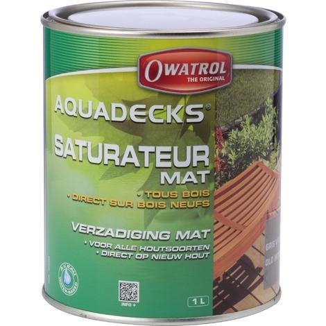 Saturateur universel Aquadecks Owatrol - Miel - 1 l