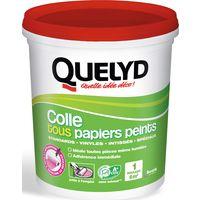 Colle tous papiers peints avec indicateur coloré Quelyd - Pot 1 kg