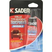 Colle gel contact transparente Sader - Tube 55 ml