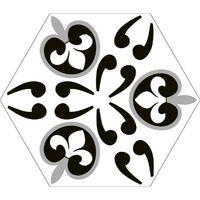 Série Hexagonal Britain Dover 20x24 (carton de 0,98 m2)