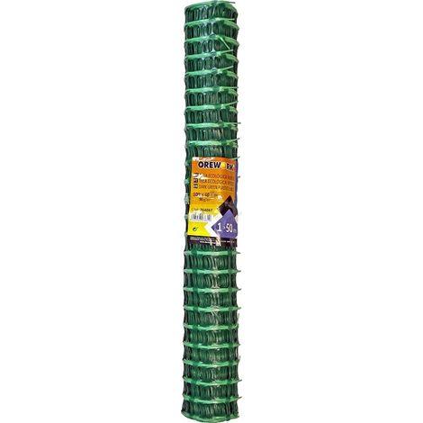 Malla verde plastica ecologica 1x50 Mt Orework