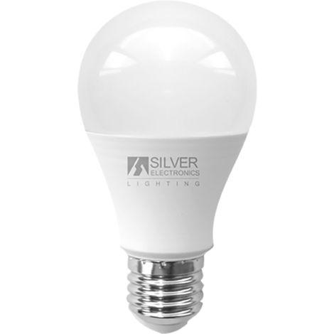 Lámpara Standard LED 20W E27 5000K Silver Sanz