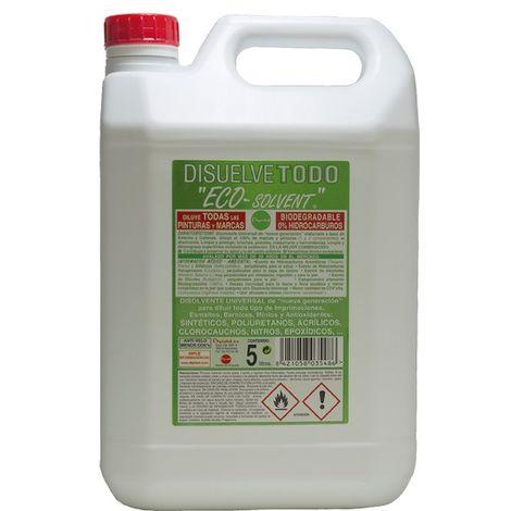Disolvente ecológico Eco-Solvent 5 Lt Dipistol
