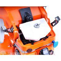 Tronçonneuse thermique 62 cm3, guide 50 cm, 2 chaines + housse de transport