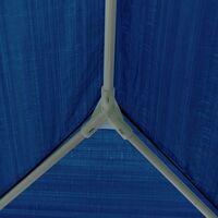 Tonnelle de Jardin imperméable avec Cadre en Acier 210D et 4 Panneaux latéraux en Tissu Oxford avec revêtement argenté 3 x 4 m 3 x 4 m Bleu - Meerveil