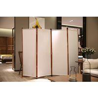 Beige 163 x 180 cm Decorazione Elegante Angel Living Paraventi Grande a 1 Pannelli Divisorio Pieghevole