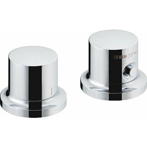 Hansgrohe Axor Massaud Termostato de 2 orificios para bañera DN15 - 18480000