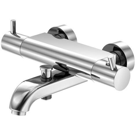 Steinberg Serie 100 Bañera/ducha Termostato AP 1/2, cromado 1003100 - 1003100