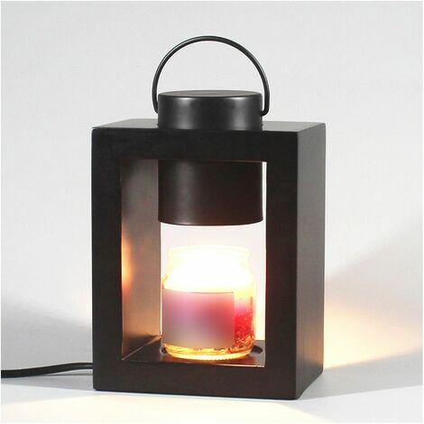 Lampe chauffante pour bougie parfumée candle warmer Ht. 8 cm CLARA 505B ampoule GU10 230V à variateur - D-Work