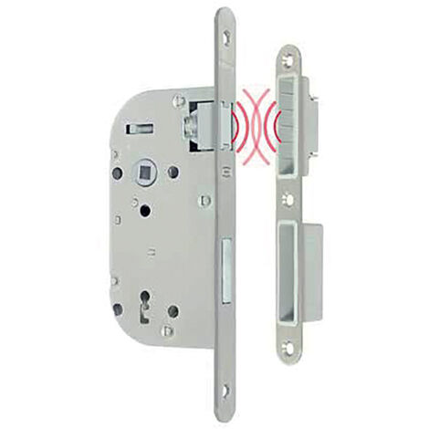 Serrure à larder magnétique - Axe : 50 - Fonction : clé i - METALUX