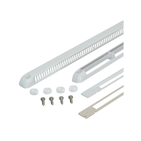 Kit grille de ventilation - Teinte : Chêne doré - NICOLL