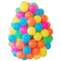 600PC KIDS PLASTIC SOFT PLAY BALLS CHILDREN BALL PITS PEN POOL BATH PIT MULTI 5.5CM