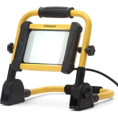 STANLEY Projecteur de chantier Led portatif - 20 W - 1500 lumens