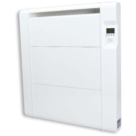 DX Drexon HERMANO - Radiateur céramique - 750W - 39,5 x 7,5 x 59 cm - Avec Anti-surchauffe - Blanc