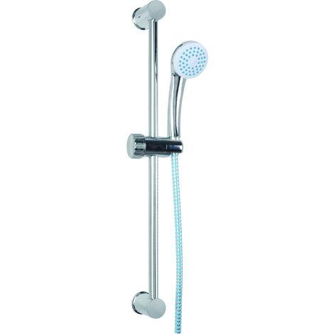 TEC HIT 186150 - Ensemble douchette - 1 fonction - Avec Flexible de 1,50 m - En PVC
