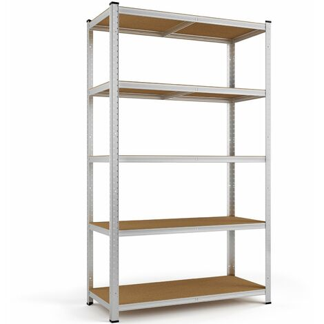 Heavy Duty Shelving Unit Storage Racking Shelf Shelves Boltless Garage Tier NEW 5 Böden - 170x75x30cm (de)