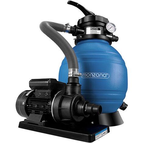 Sand Filter Sand Filter System 10 m³/h - Pool Filtration System Filter Bowl