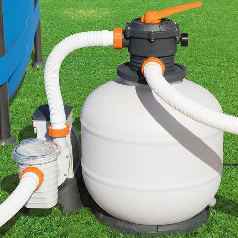 Bestway Flowclear Sand Filter System With Timer 7,571 l/h Pump Filter