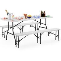 Table bench set folding camping furniture dining table bench set camping table benches picnic table garden furniture