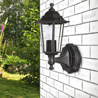 Outdoor Light Victorian Style Street Wall Lamp Lantern Post Wall Light