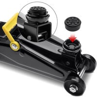 Deuba Hydraulic Trolley Jack 2t Universal Fit Easy to Use 330mm Car Vehicle Quick Lifting Heavy Duty Portable Tool
