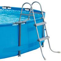 Bestway Pool Ladders 33' 2 Steps / 42' 3 Steps / 48' 4 Steps Safety Stepladder 122cm - 4 Steps