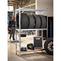 Tyre Rack Shelving Wheel Rim Shelf Heavy Duty 180x120x40cm 795kg